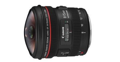 Canon 8 - 15 mm f/4L